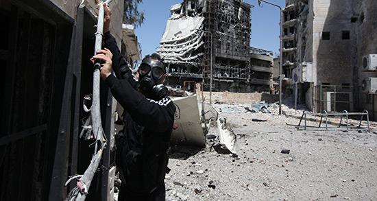 Attaque chimique à Idlib: Damas a visé un entrepôt terroriste de produits «toxiques», selon Moscou