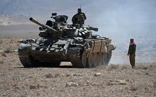 L'armée syrienne reprend partiellement le contrôle de la route Damas-Palmyre