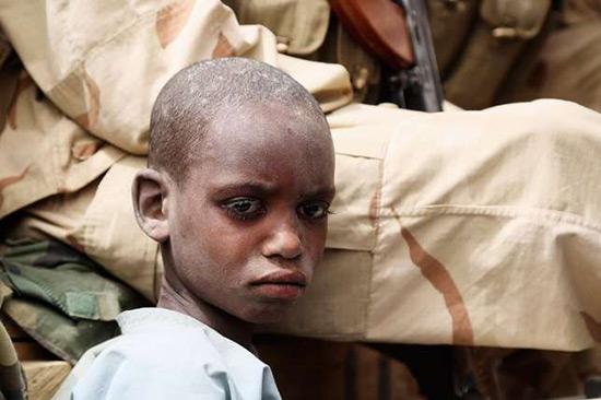 Les enfants victimes du conflit contre «Boko Haram», selon l'Unicef.