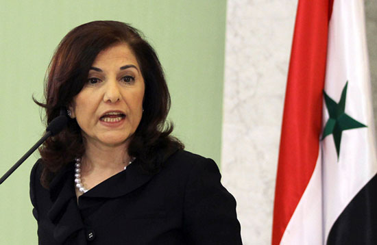 Shaaban: la frappe US en Syrie compliquera les négociations de Genève