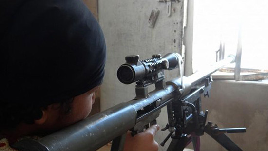 Le tireur d'élite numéro un de «Daech» abattu à Mossoul.