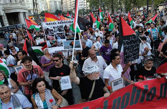 Espagne: la ville de Barcelone apporte son soutien au mouvement BDS.