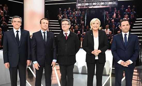 France/Présidentielle 2017: les écarts se stabilisent à J-4, selon le sondage Ifop.