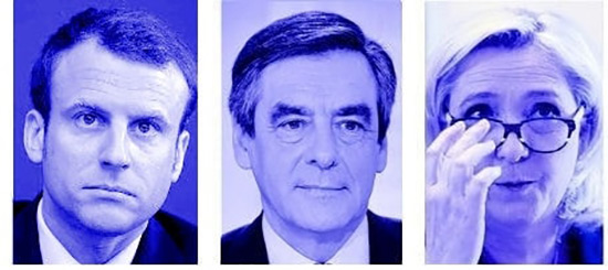 France/Présidentielle 2017: Le Pen devance Macron et Fillon.