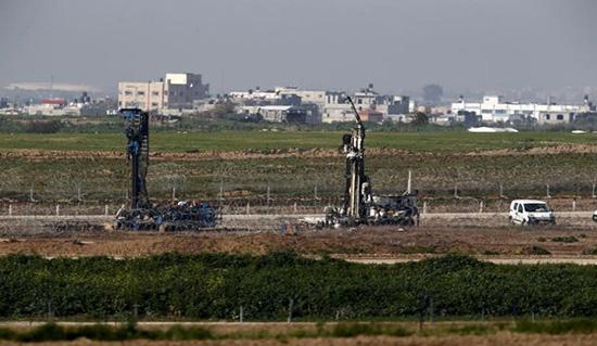 Le mur de séparation à la frontière de Gaza… une étape sécuritaire à dimension politique