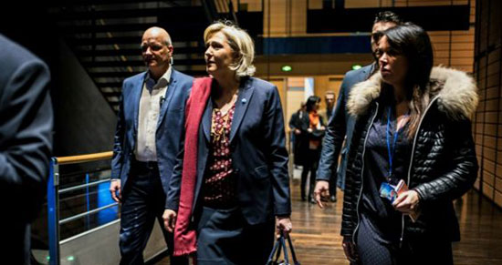 La justice française demande la levée de l'immunité de Marine Le Pen