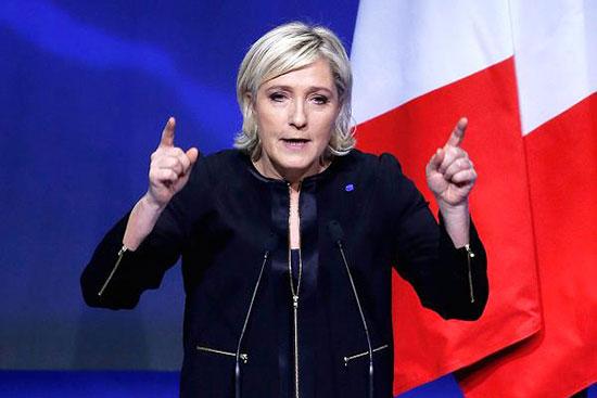 A Marseille, Marine Le Pen appelle à l'«insurrection nationale»