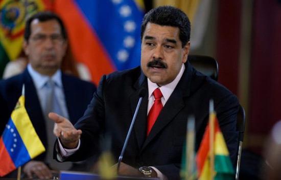 Maduro accuse les Etats-Unis de chercher à «faire éclater» le Venezuela.