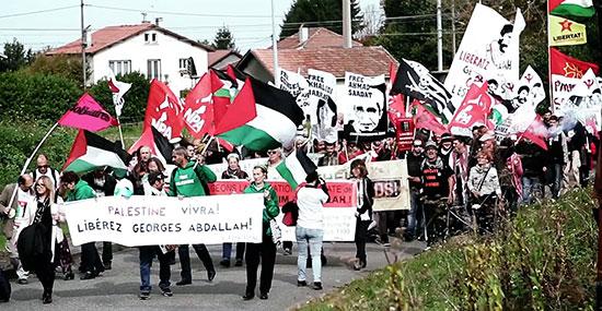 Solidarité avec les 1500 grévistes: Georges Abdallah a lancé une grève de plateau de trois jours