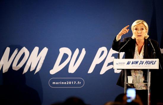 Le QG de campagne de Marine Le Pen visé par une tentative d'incendie.