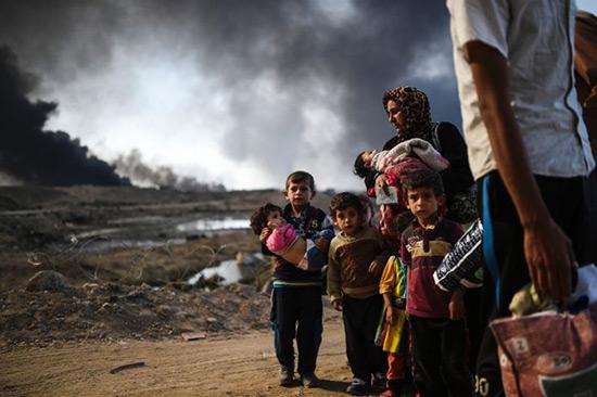 L'Irak appelle les habitants de zones contrôlées par «Daech» à rester chez eux.
