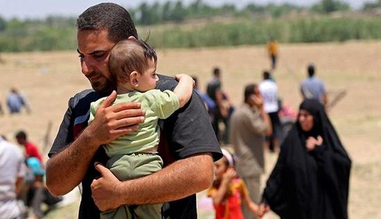 Mossoul-Ouest: plus de 400.000 civils ont fui la guerre.