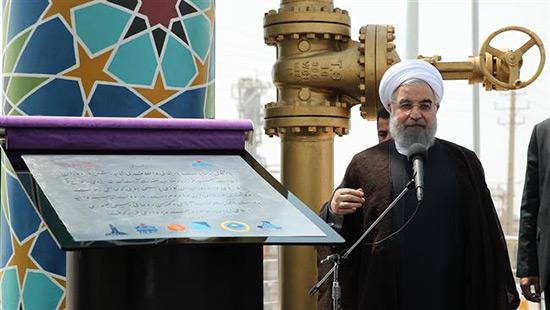 L'Iran inaugure 5 phases du champ gazier de Pars Sud d'une valeur de 20 md USD.
