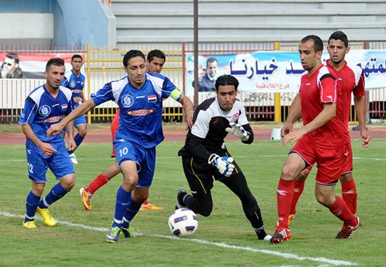 Le premier match de football à Alep après la libération de la ville.
