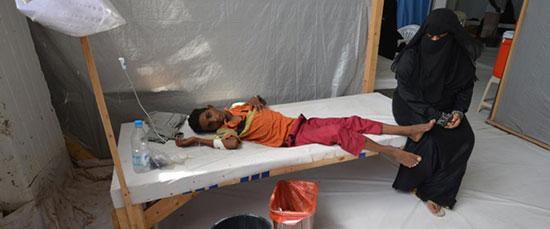 Choléra au Yémen: 315 morts, 29.300 cas suspects