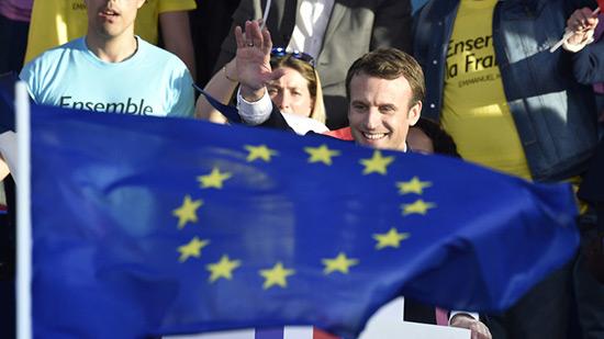 Emmanuel Macron, une très bonne nouvelle pour l'Europe, selon la BCE.