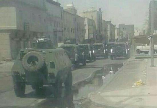 Arabie: Awamiyah complètement «encerclée et bouclée», HRW s'alarme.