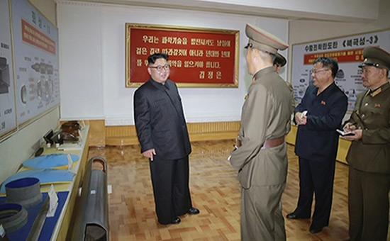 «Menace crédible»: Pyongyang publie des images montrant de nouveaux missiles.