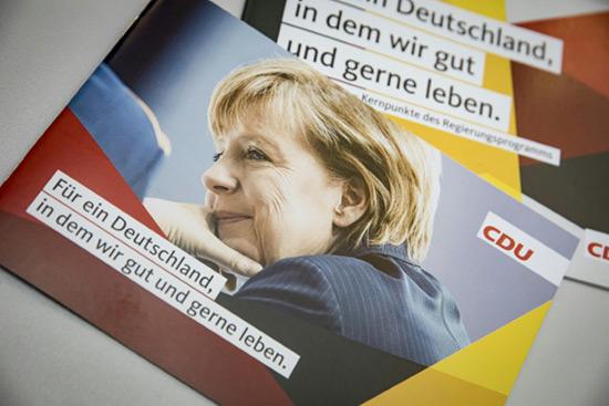 Merkel et «l'étrange» campagne électorale allemande.