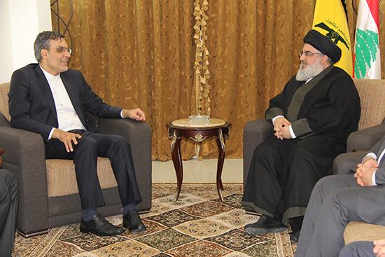 L'adjoint du ministre iranien des AE chez sayed Nasrallah