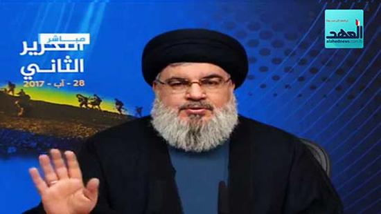 Sayed Nasrallah proclame le 28 aout 2017 journée de 'la deuxième libération du Liban'
