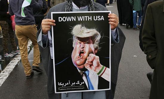 L'Iran marque des points, l'Amérique recule.