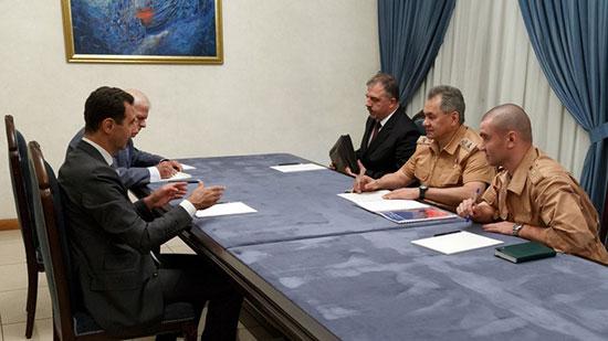 Coopération militaire et stabilisation politique: Choïgou a rencontré Assad