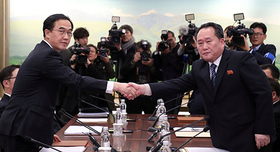Pourquoi Pyongyang a soudainement décidé d'entamer les négociations avec Séoul.