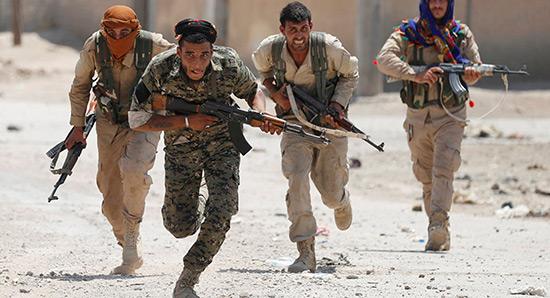 Washington souhaite former une nouvelle force frontalière en Syrie.