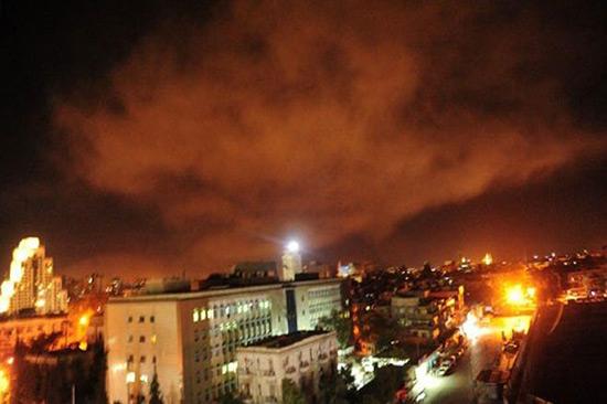 Les missiles américains n'étaient pas si «intelligents» pour percer le bouclier syrien