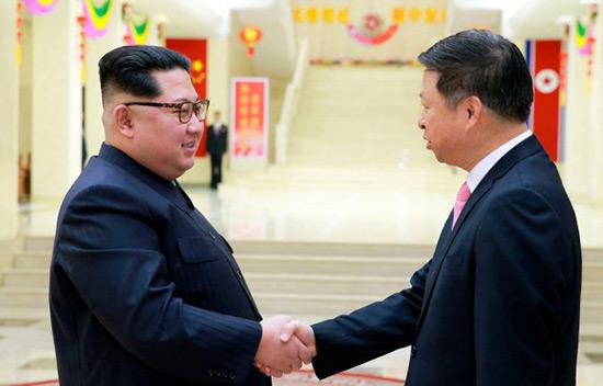 Corée du Nord: Kim appelle à renforcer les liens avec la Chine