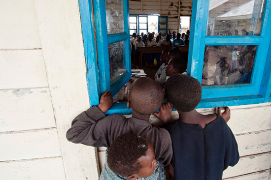 260 millions d'enfants dans le monde ne vont pas à l'école