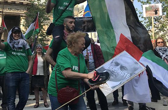 Massacre à Gaza: rassemblement à Paris pour dénoncer les actions d'«Israël»