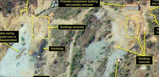 Le démantèlement du site d'essais nord-coréen «bien avancé»