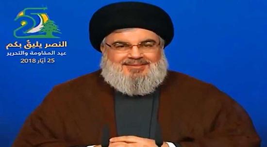 Discours de sayed Nasrallah à l'occasion de la fête de la libération