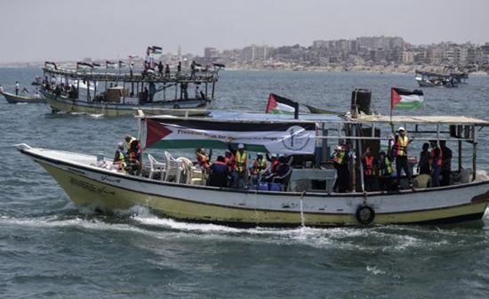Un bateau palestinien partant de Gaza pour dénoncer le blocus arrêté par «Israël»