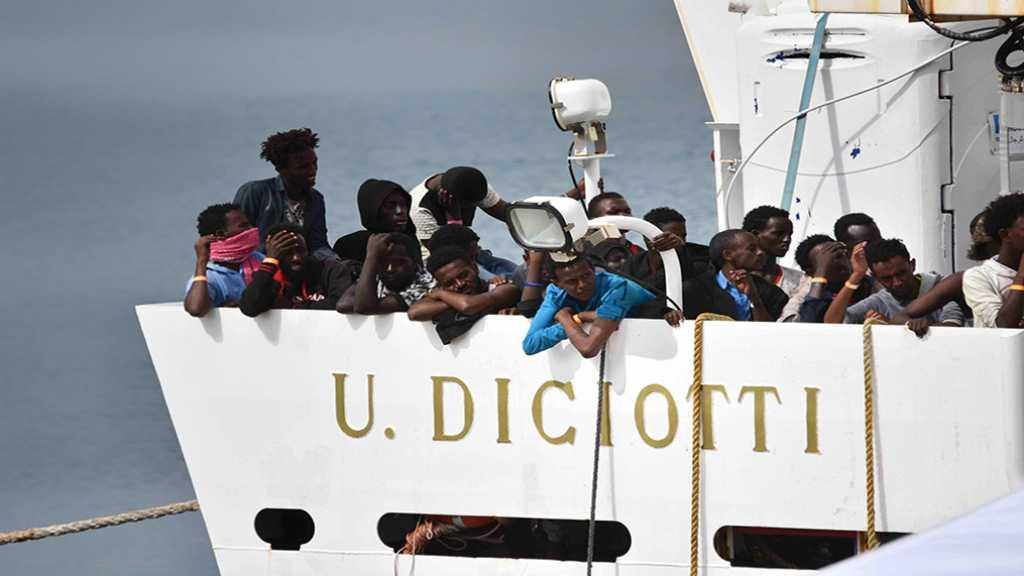 L'Italie exige une réponse de l'UE sur la répartition des migrants bloqués en Sicile