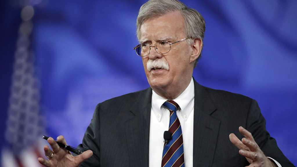 John Bolton menace d'une éventuelle frappe américaine en Syrie