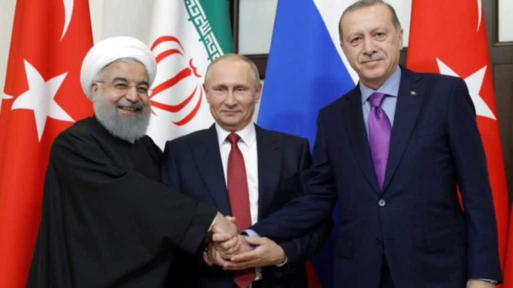 Syrie: sommet tripartite Moscou-Téhéran-Ankara en Iran le 7 septembre