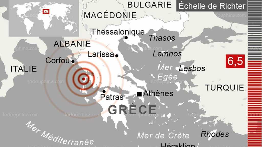 Tremblement de terre en Grèce, apparemment sans victime