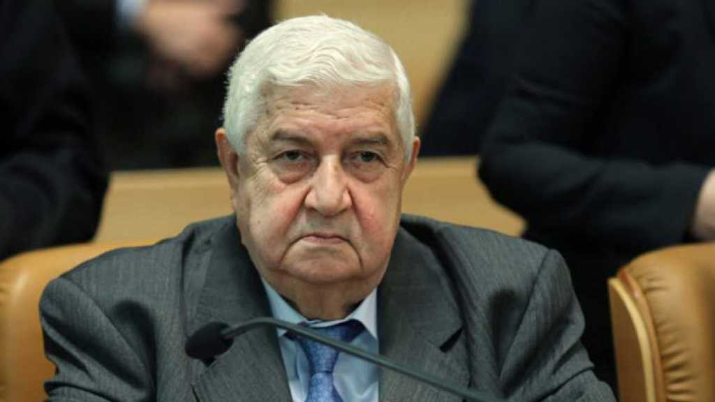 Mouallem: «Un quart d'heure» sépare la Syrie de la victoire sur le terrorisme