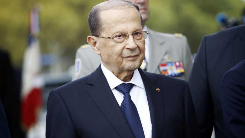 Le Liban prêt à faire «face à toute agression israélienne», dit le président