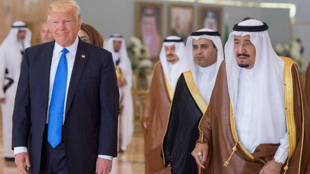 Pour la quatrième fois, Trump rappelle aux Saoud qu'ils doivent payer