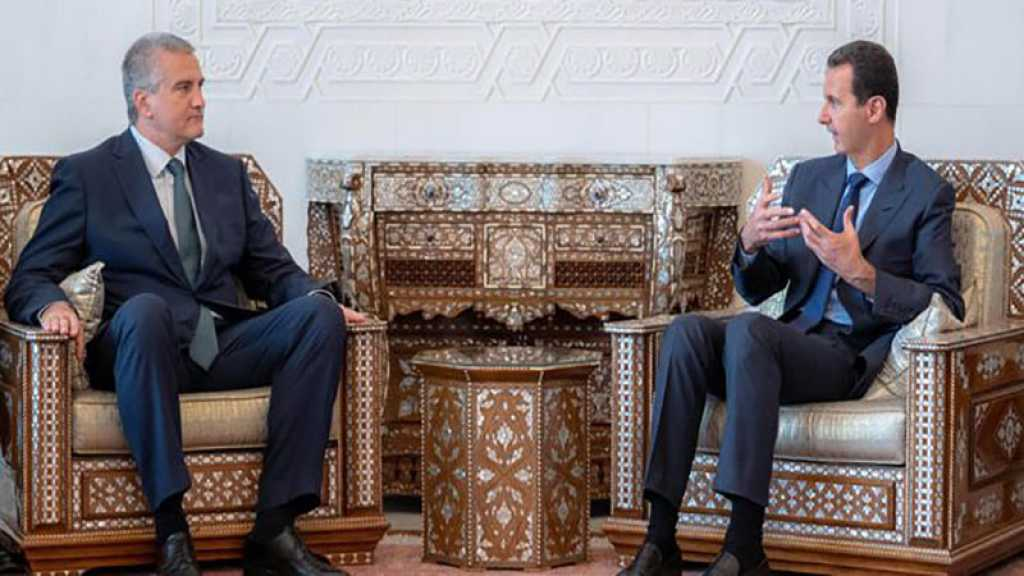 Aksionov chez Assad : vers un renforcement de la relation bilatérale pour l'intérêt des deux peuples