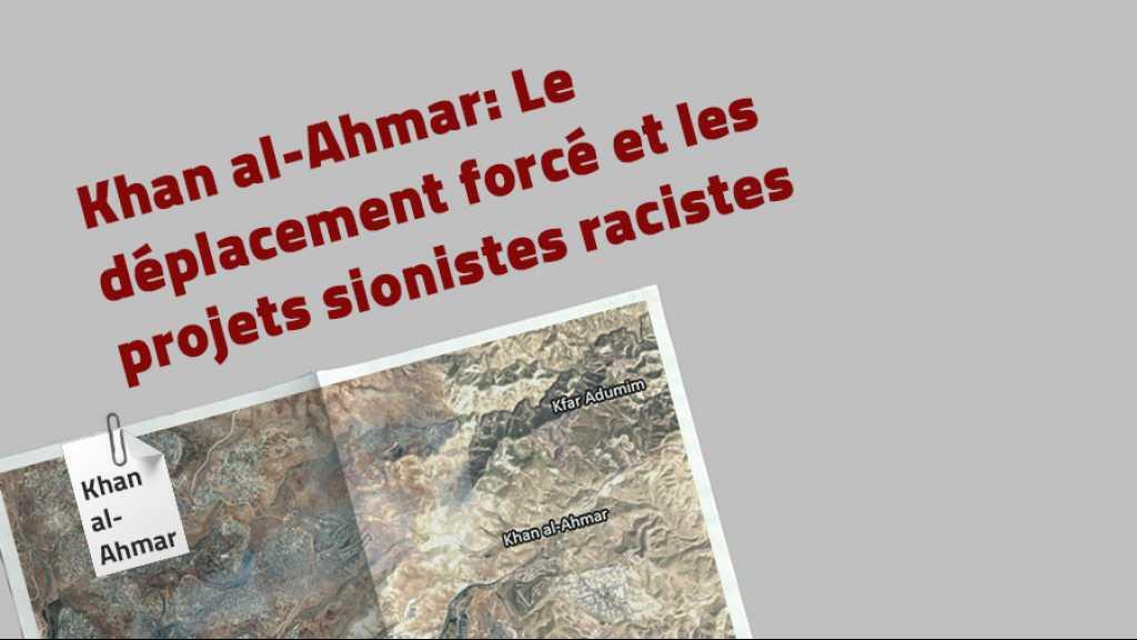 Khan al-Ahmar ... Le déplacement forcé et les projets sionistes racistes
