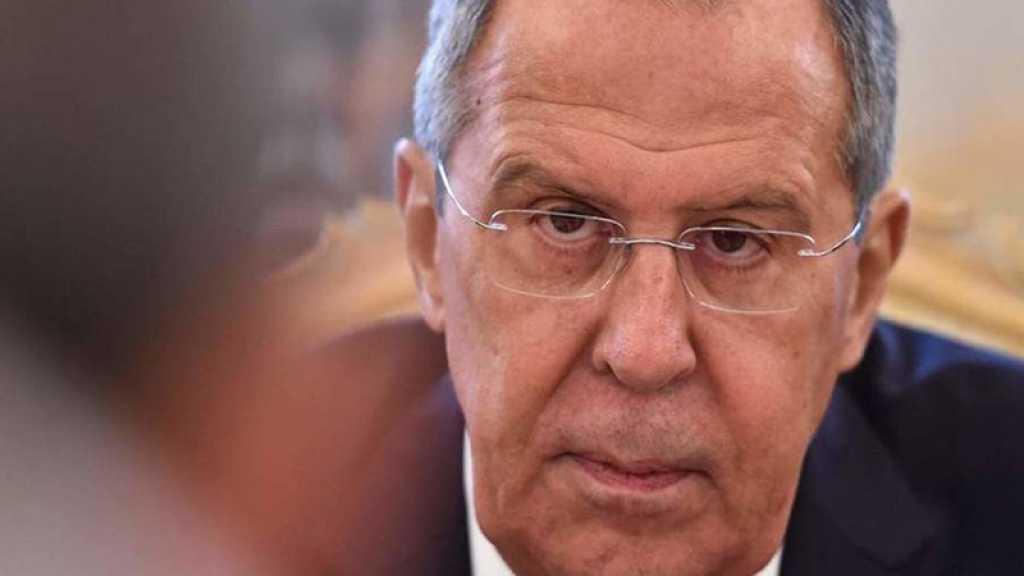 Lavrov: Les attaques en Syrie ne résoudront pas les problèmes sécuritaires d'«Israël»