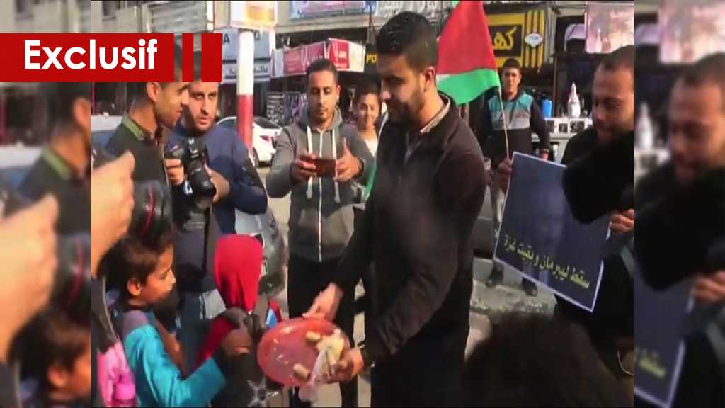 Les Palestniens célèbrent la victoire à Gaza et brûlent les photos de Lieberman