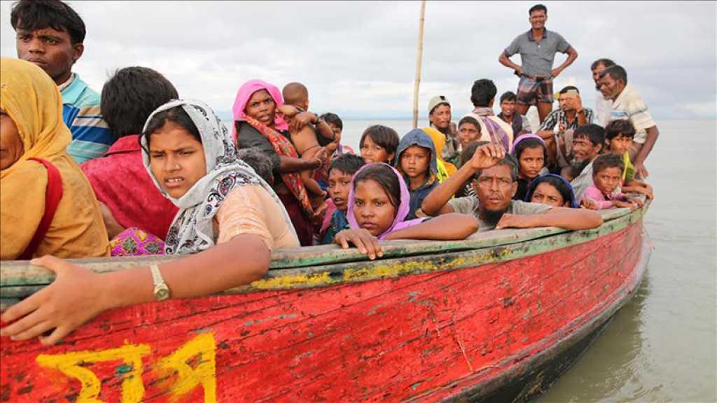 Un navire de Rohingyas en fuite intercepté par la marine birmane