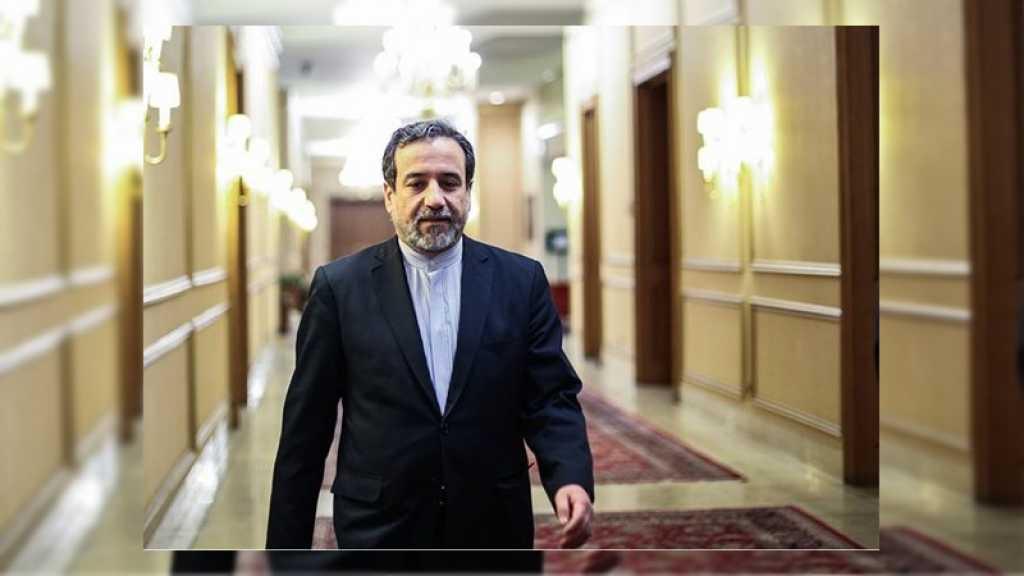 Le vice-ministre iranien des AE à Alger pour consultations politiques sur des questions régionales et internationales