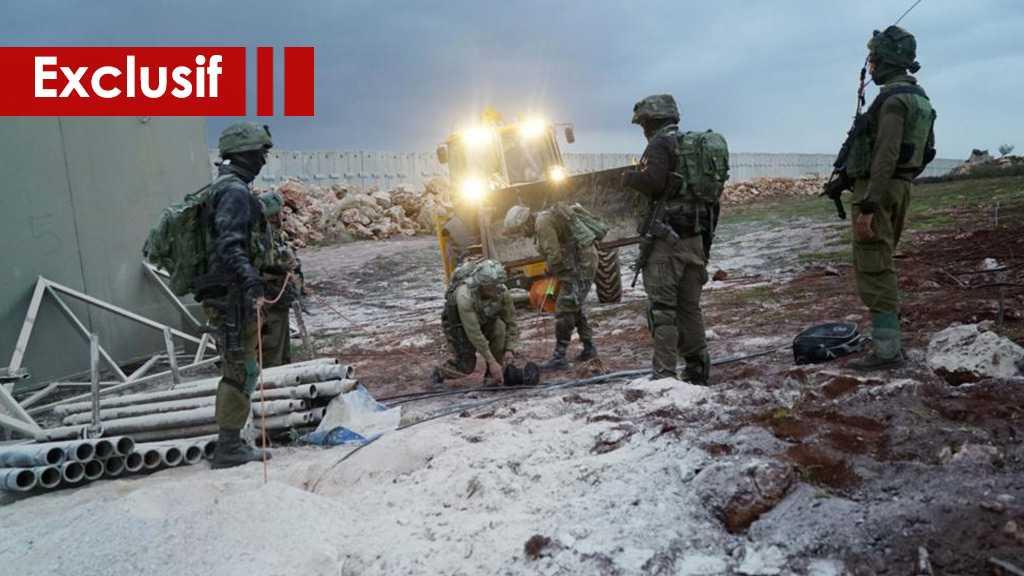 «Israël» a découvert un tunnel ... Et l'armée célèbre cette découverte !